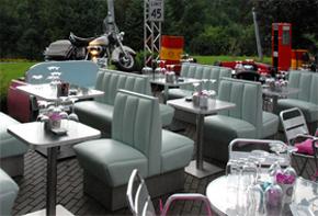 Retro Lounge American Diner 50s Hafenwerk