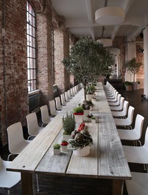 Familien Tisch lange Tafel Holz Hafenwerk