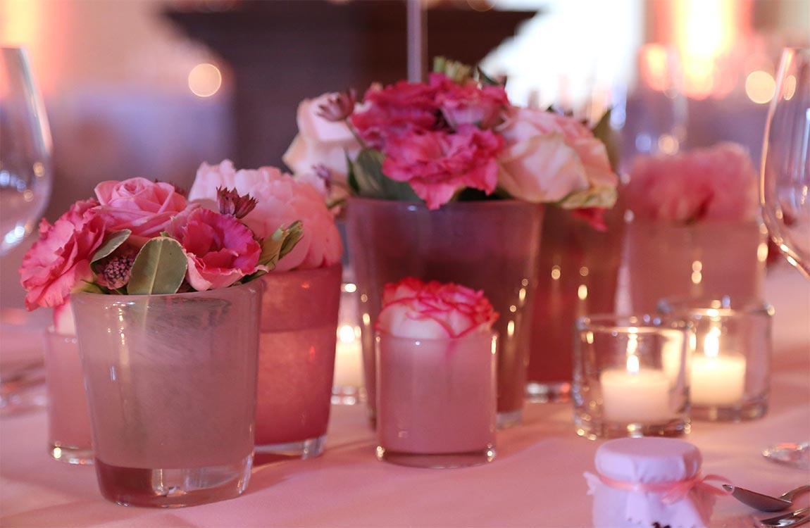Tischdekoration Hochzeit Floristik Hafenwerk