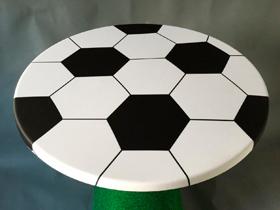 Hafenwerk eventdesign Dekoration Fussball Stehtisch