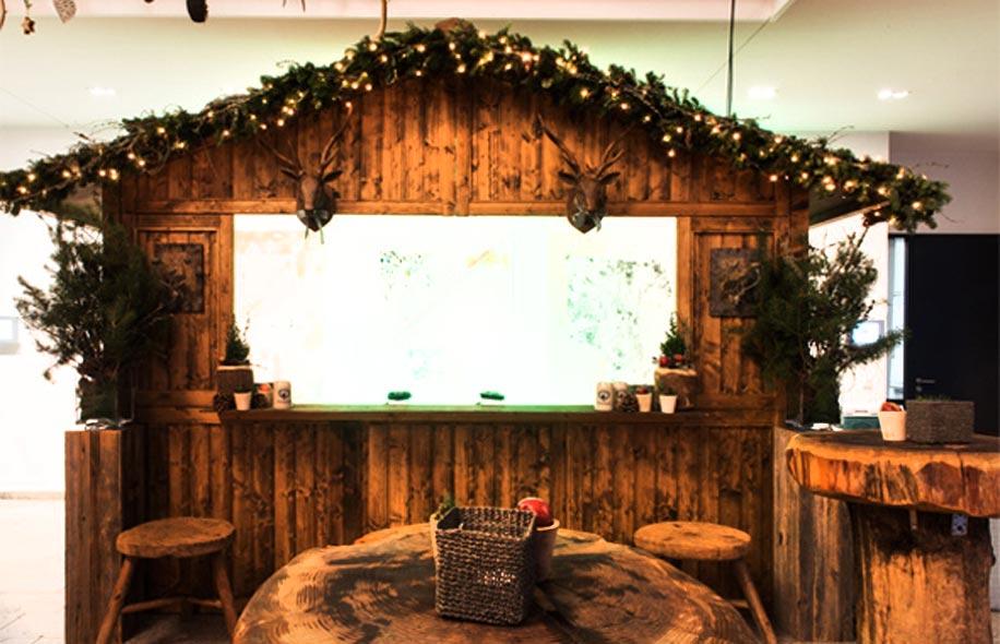 Glühwein Hütte