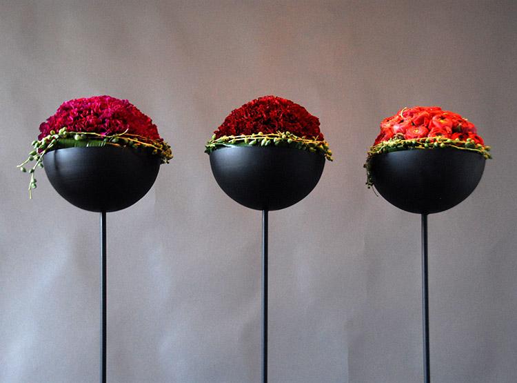Blütenkugel – Halbgesteck