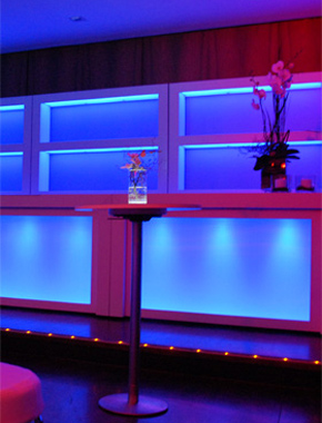 Counter HighFly – Bars, Buffet & Empfang Hafenwerk