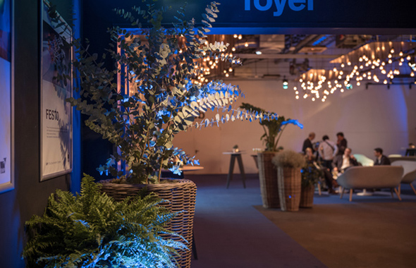 Gestaltung Foyer – Pflanzen , Bäume & Co. Hafenwerk