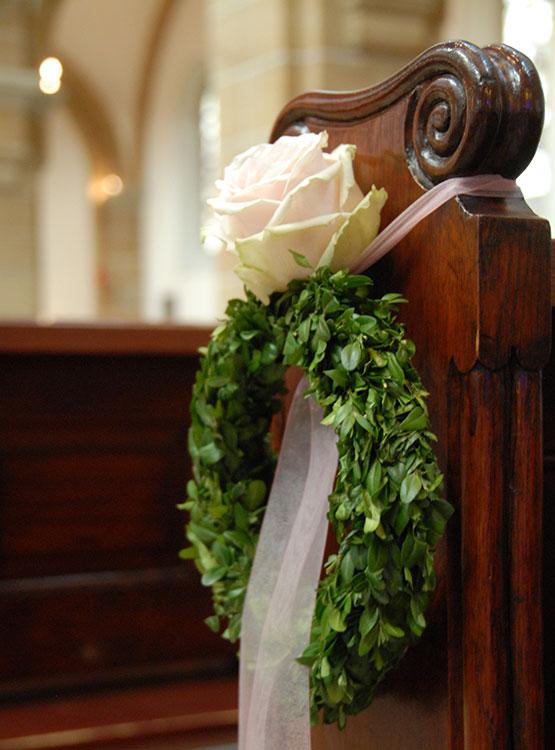 Floraler Kirchenschmuck