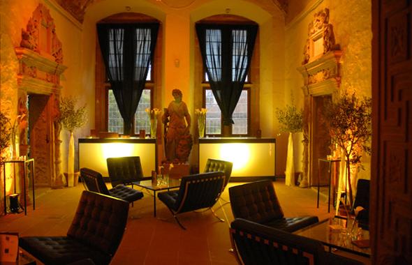 Lounge Barcelons Chair Schloss Dekoration Hafenwerk