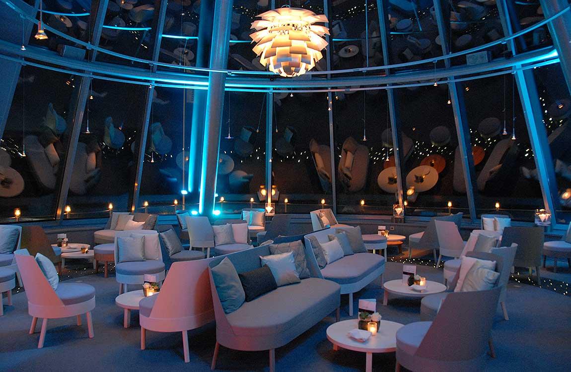 Lounge unterm Sternenhimmel