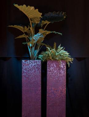 Mosaik Säulen – Pflanzen, Bäume & Co. Hafenwerk