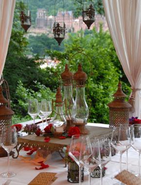 Orient – Tischdekoration Hafenwerk