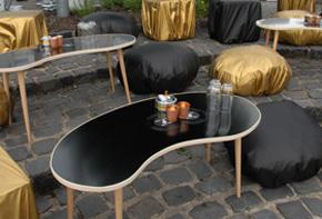 Retro Nierentisch Lounge Hafenwerk
