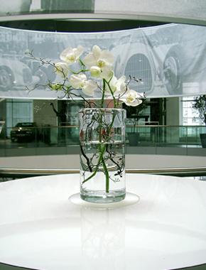 Glaszylinder schlicht und klar – Tischdekoration Hafenwerk