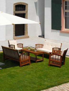 Teak Lounge Outdoor Hafenwerk