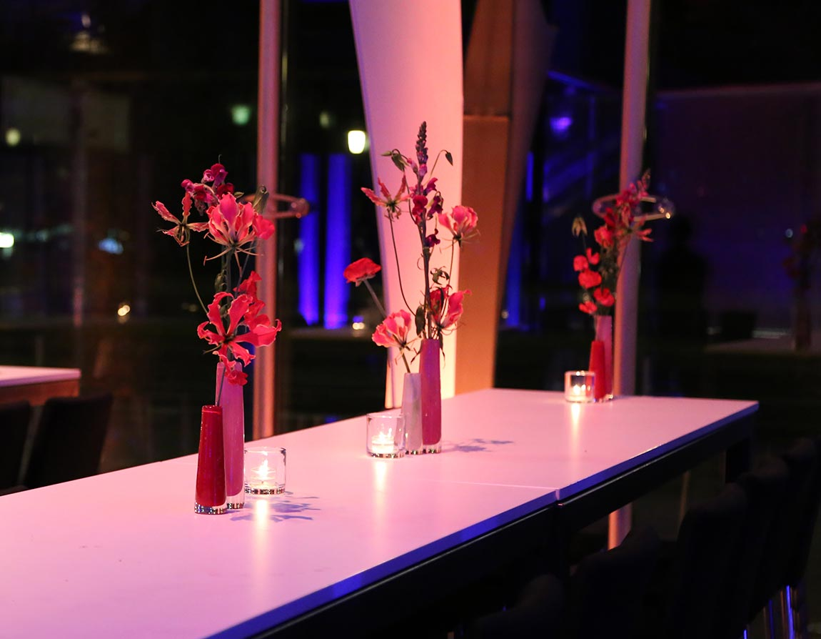 Glasvasen – Unikate mit Blüten