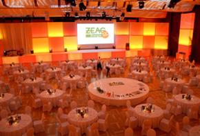 ZEAG Event Saal Gesamteindruck Hafenwerk