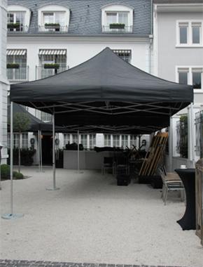 Zelt schwarz Outdoor Hafenwerk