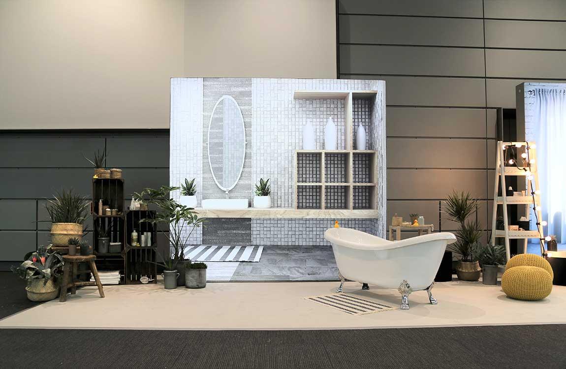 Badezimmer Bühne