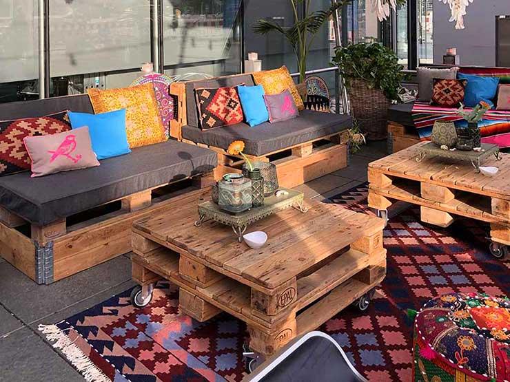 Lounge im Boho Style