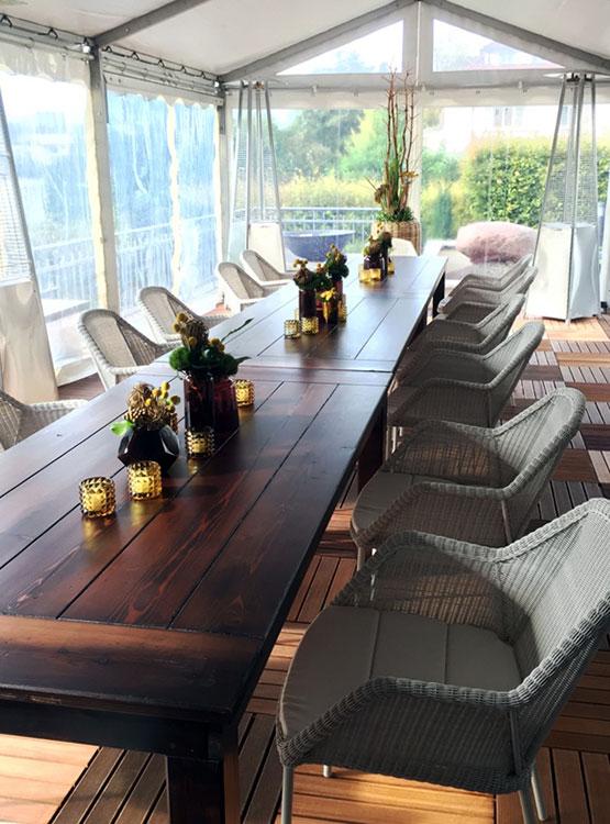 Easy Outdoor Stuhl – elegant und sehr bequem