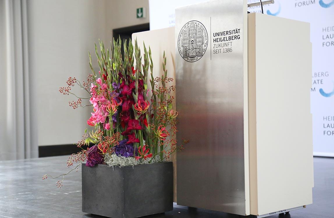 Bühnendekoration Uni Heidelberg