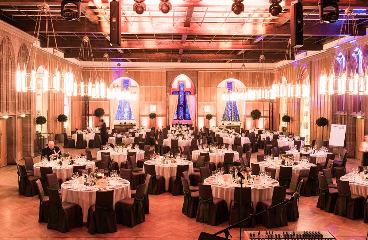 Gala Dinner im Schloss Heidelberg