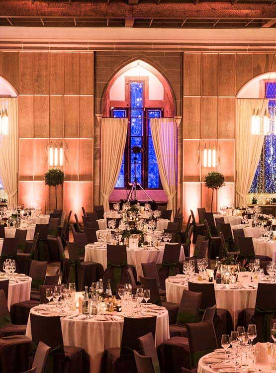 Gala-Dinner im Schloss