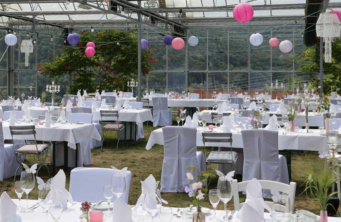 Hochzeit unter freiem Himmel