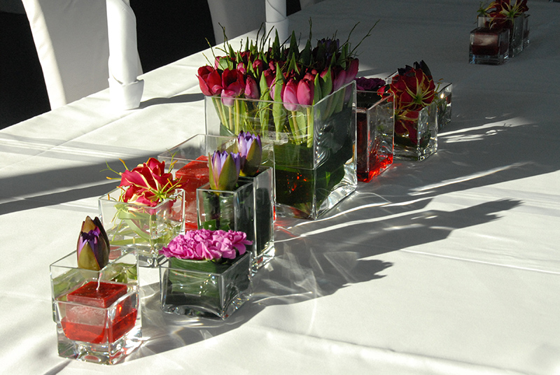 Floristik Tischdekoration