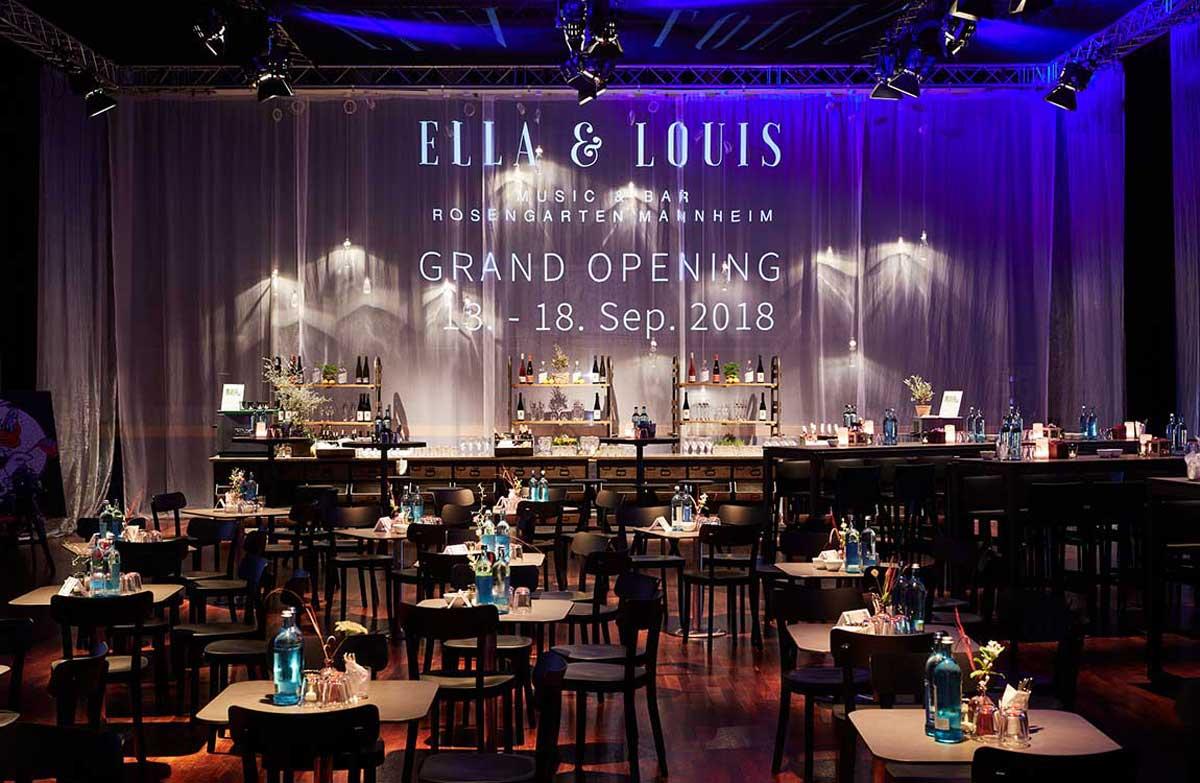 Opening – Ella & Louis, Live Jazz Club
