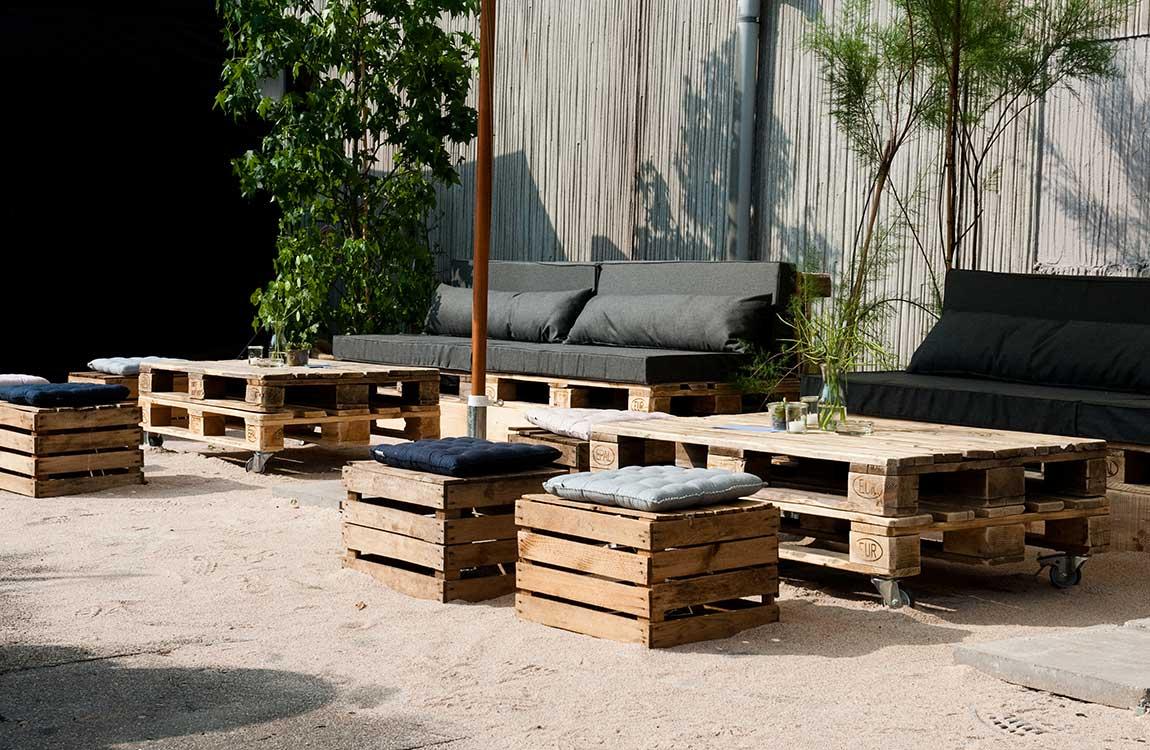 Outdoor Lounge created by Hafenwerk
