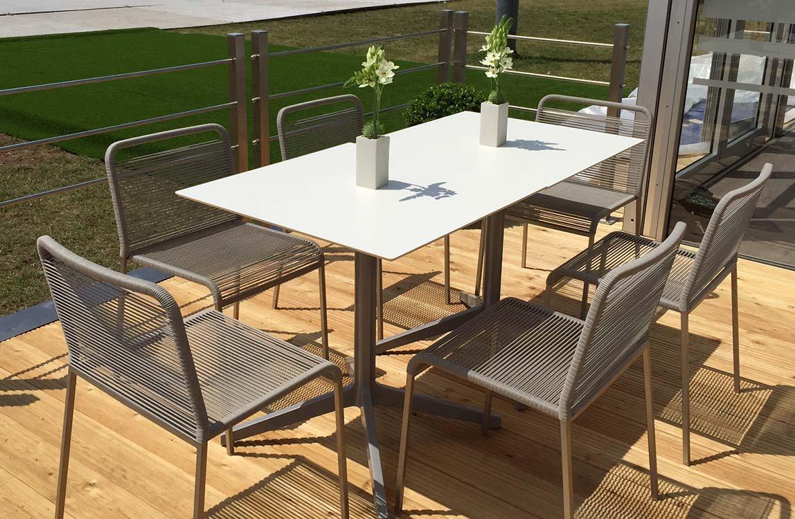 Rope Outdoor Stuhl – modernes Design und hoher Sitzkomfort