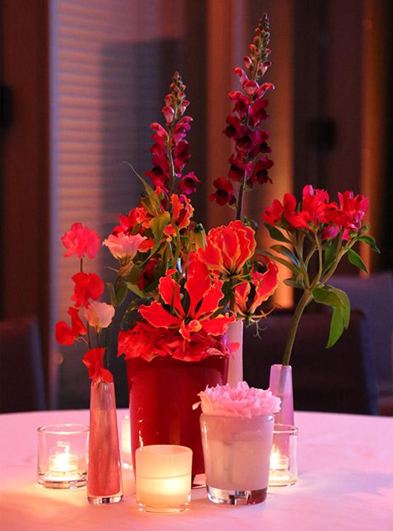 Passendes florales Ensemble